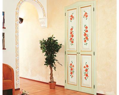 Porte interne dibi - Porte decorate a mano ...
