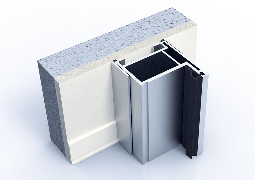 Telai in alluminio per meccanya - Montaggio finestre pvc senza controtelaio ...