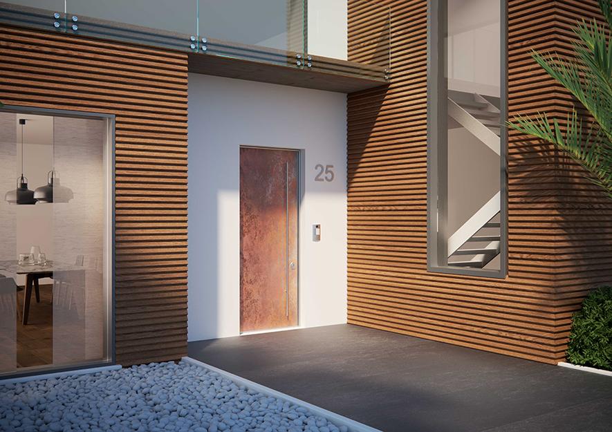 Porte blindate meccanya sound dibi - Maniglia porta ingresso ...