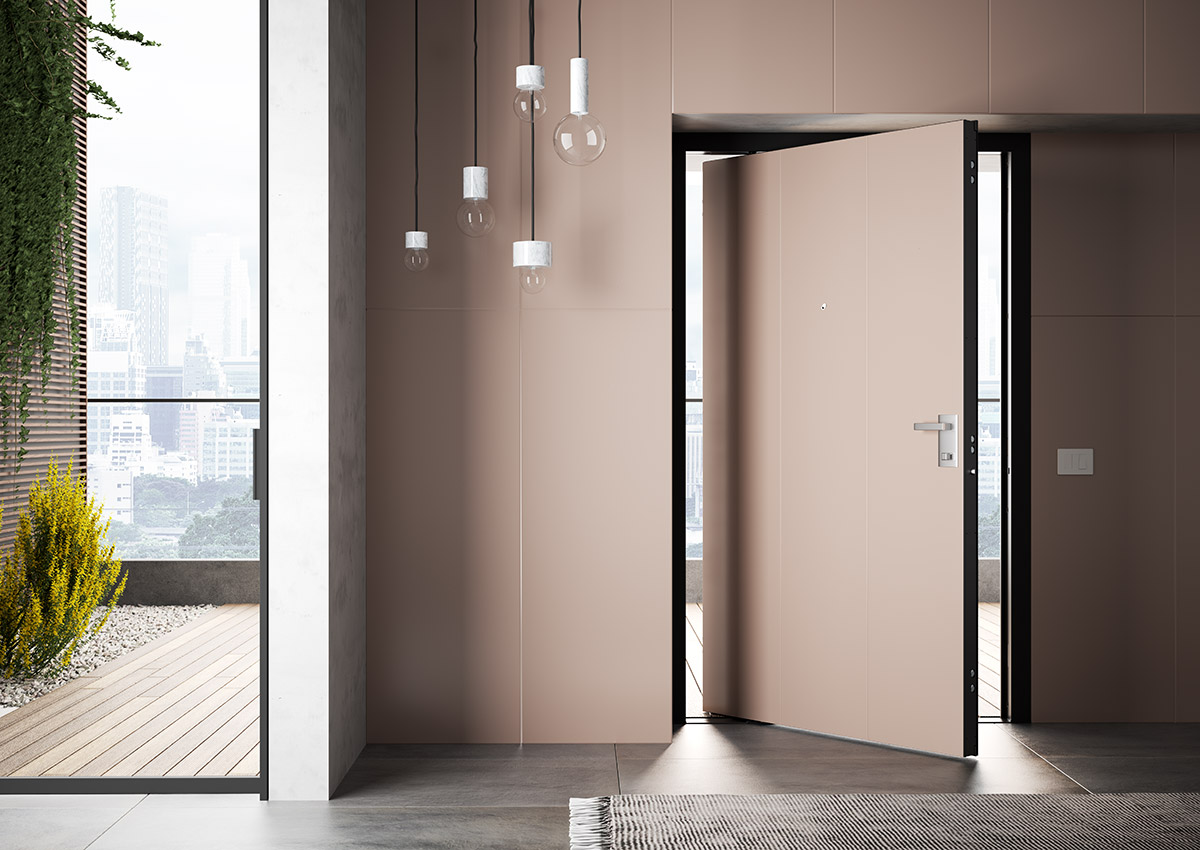 Di big pivot security door di bi for Design di mobili korson