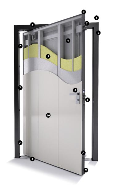 Porta Blindata A Bilico Di Big Di Bi