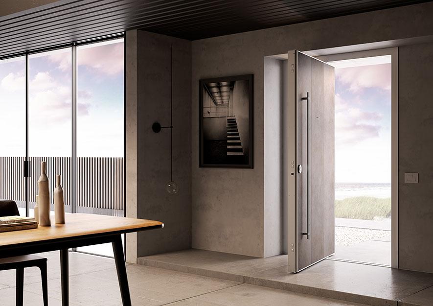 Next & Di.Big pivot security door - Di.Bi Pezcame.Com
