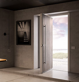 Di.Big pivot security door - Di.Bi