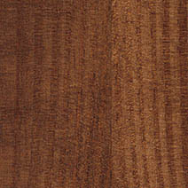 Walnut stained pine