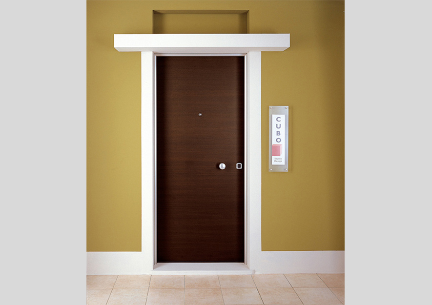 Security doors 883 - single leaf