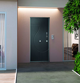 Security doors Opentech - single leaf