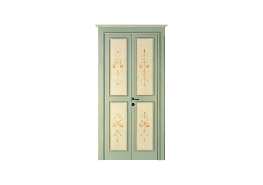 Porte interne fior di loto dibi - Porte decorate antiche ...