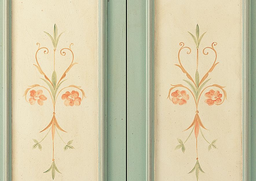 Porte interne fior di loto dibi - Decorazioni porte interne ...