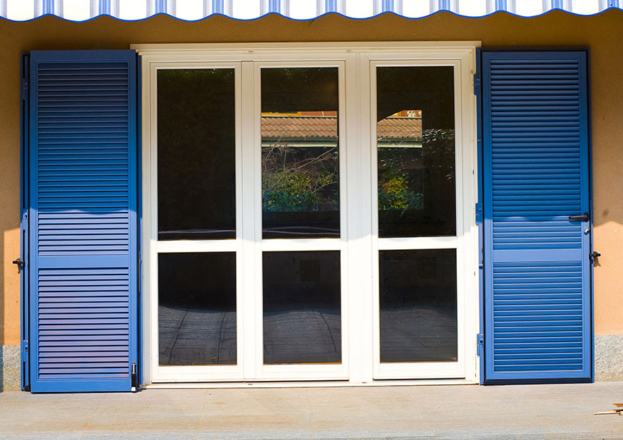 Persiana blindata vesta dibi - Porta finestra blindata ...